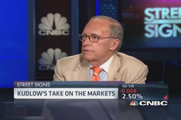 Kudlow: US creating jobs, not best report