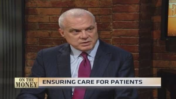 Patient profits: Aetna CEO