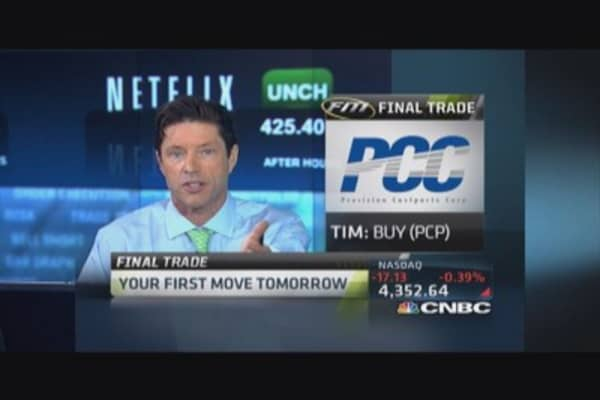 Fast Money Final Trade: PCP, SLV, MBLY, QQQ