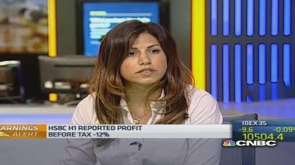 HSBC H1 pre-tax profit down 12%