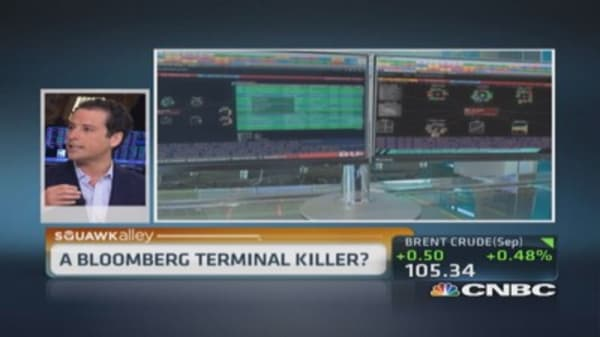 A Bloomberg terminal killer?