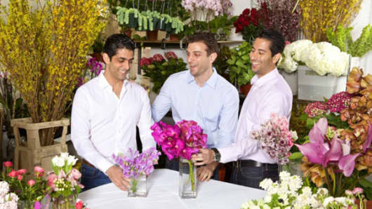 BloomNation co-founders: David Daneshgar, Gregg Weinstein, and Farbod Shoraka