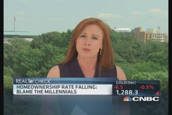 What's behind homeownership drop