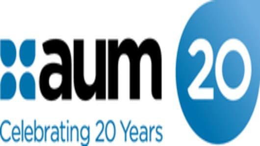 AUM 20 Years logo