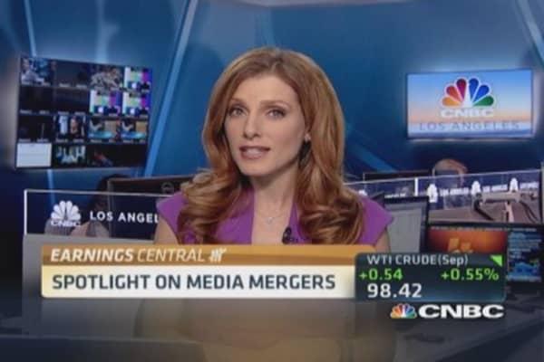 Earnings preview: Media mergers