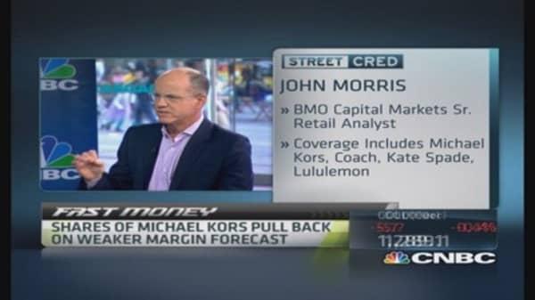 Michael Kors' near term uncertainty: Pro