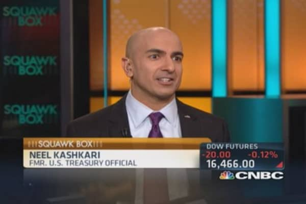 Disconnect between Wall Street and President Obama: Kashkari