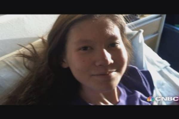 Battling a rare cancer: Nathalie's story