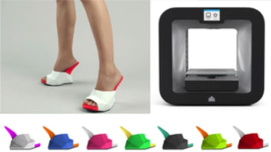 3D-Printed Float Shoes