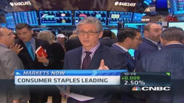 Pisani's market open: Target an outlier?