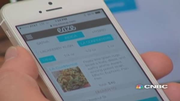 Eaze, the Uber for weed