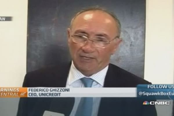 Seeing growth in Italy, Germany: UniCredit CEO