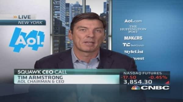 Glimpse into AOL's new digital world