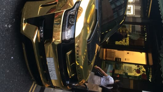 Arab Supercars Back On London S Luxe Streets