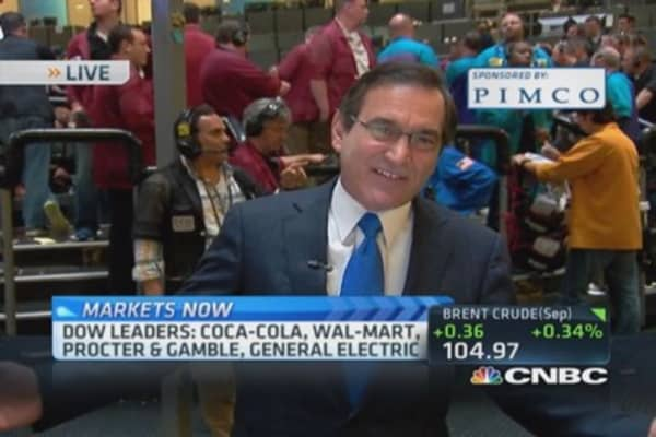Santelli: Took out low-yield close of year
