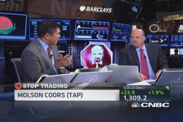 Cramer's Stop Trading: Molson Coors (TAP)