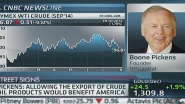 Pickens: Like to see US off OPEC oil
