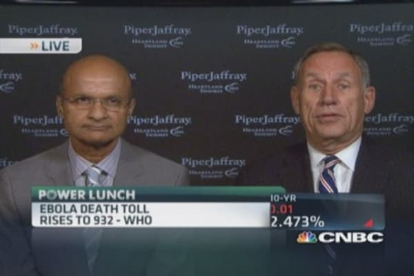 We have to be ready for diseases like Ebola: Cleveland Clinic CEO