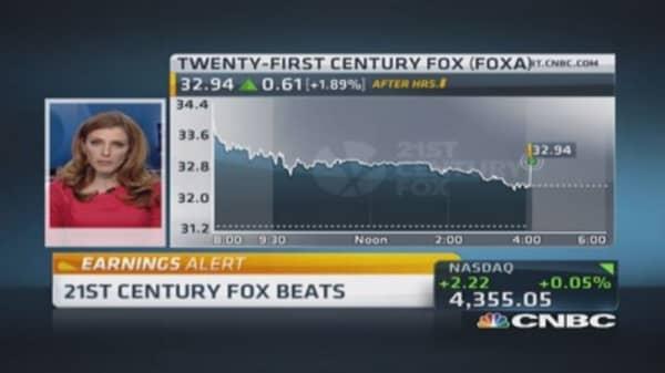 Upside surprise from 21st Century Fox