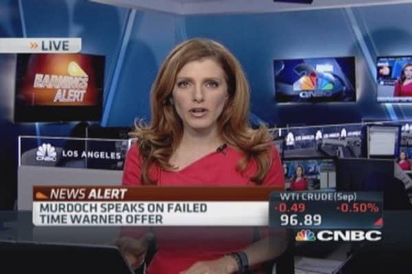 Murdoch addresses failed Time Warner offer