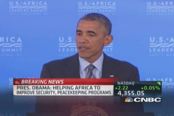 Pres. Obama: Ebola can be contained if right protocols used