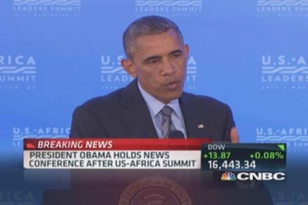 President Obama: I have no sympathy for Hamas
