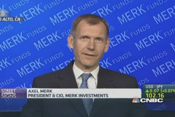 Merk: This is unnerving global markets