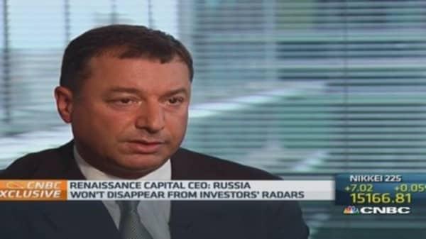 Russia won't go off investors' radar: Ren Cap CEO