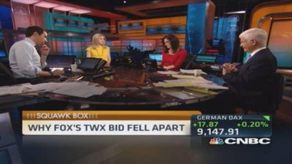 Gabelli 'neutral' on Fox/Time Warner deal
