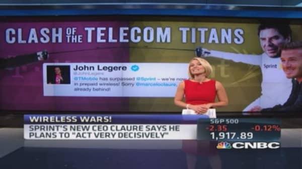 Clash of the telecom titans