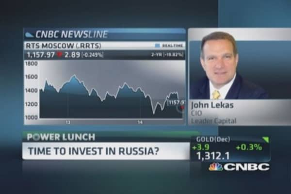 Why it's time to invest in Russia