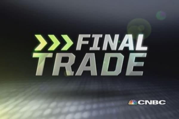Fast Money Final Trade: T, MHR, AGN & GDX