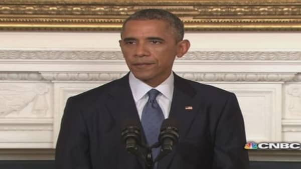 President Obama: We can act to prevent a potential act of genocide
