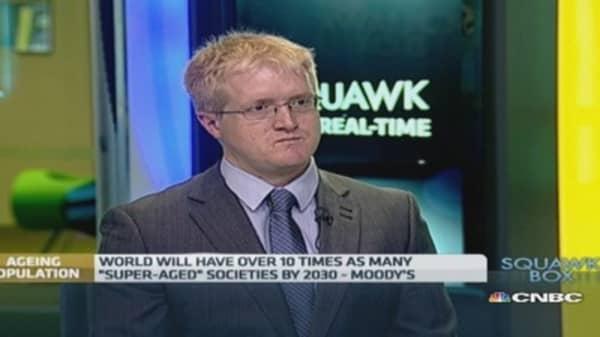 Global economy's new headwind: Gray hair