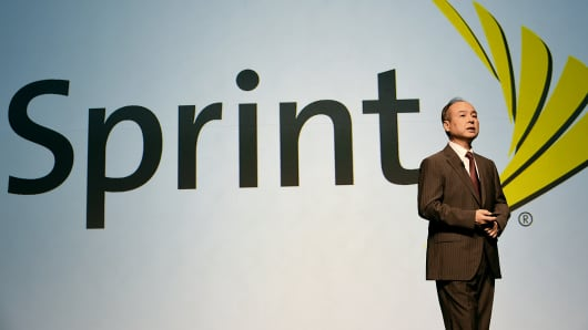 SoftBank Corp. CEO Masayoshi Son speaks during a press conference in Tokyo, August 8, 2014.