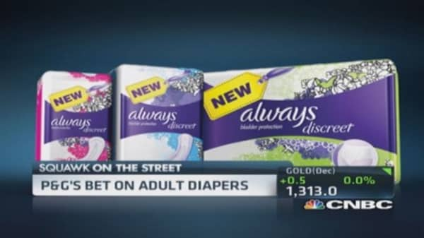 P&G's bet on adult diapers