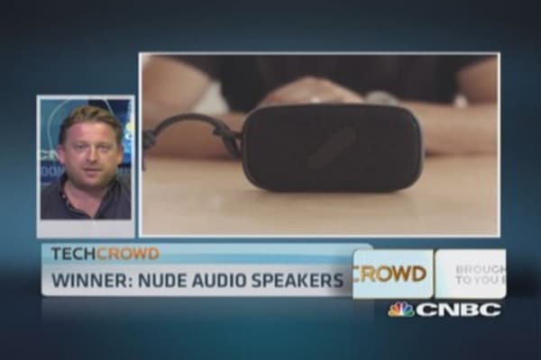 Tech Crowd leader of the week: NudeAudio speaker