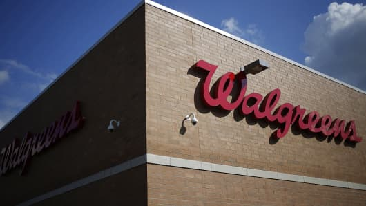 A Walgreens store is shown in Louisville, Ky.