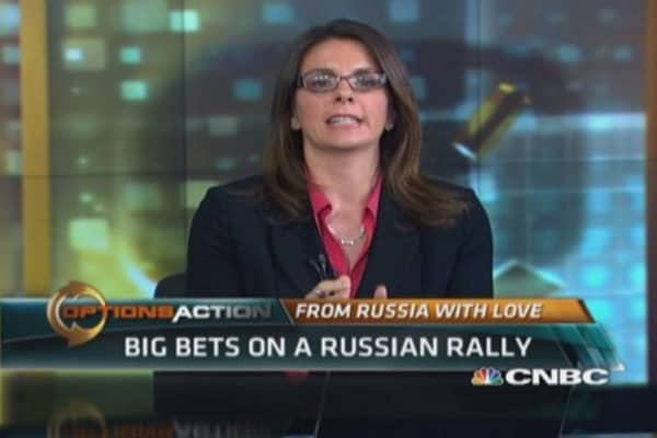 Big bets on a Russian rally