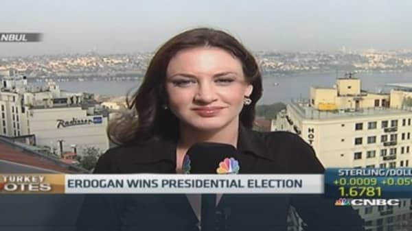 Erdogan wins Turkish presidential election