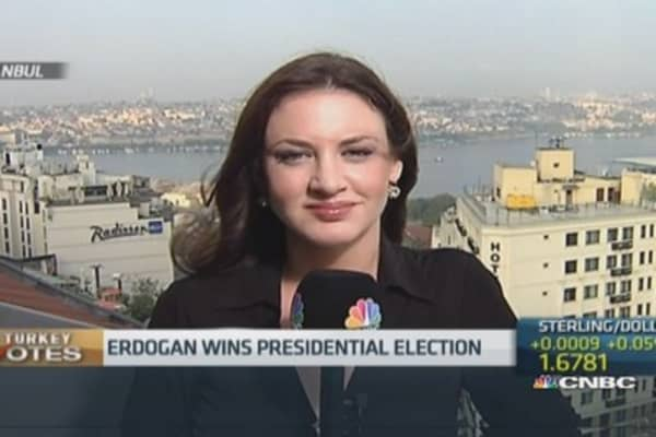 Erdogan wins Turkish presidential election