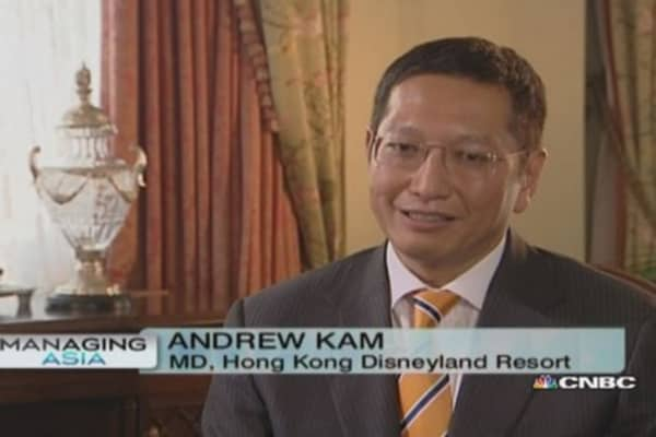 Hong Kong Disneyland's turnaround strategy