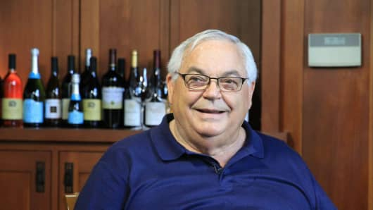 Fred Franzia, CEO of Bronco Wine Company.