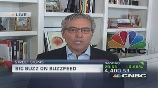Andreessen Horowitz invests $50 million in BuzzFeed