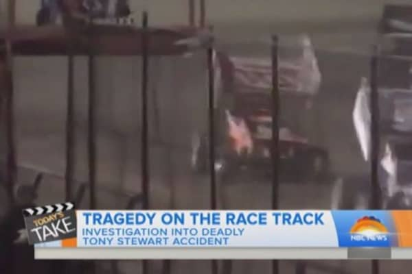NASCAR's Tony Stewart hits and kills young driver