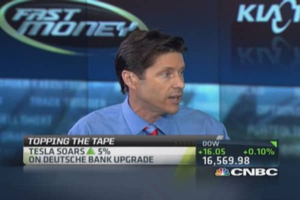 Deutsche Bank upgrades Tesla