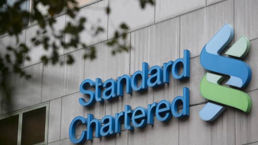 The Standard Chartered Plc logo