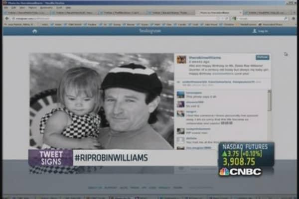 Celebs, fans mourn Robin Williams on Twitter