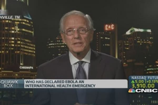 Ebola drugs need to be proven safe: Professor