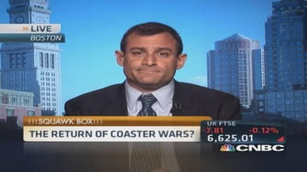 Return of roller coaster wars